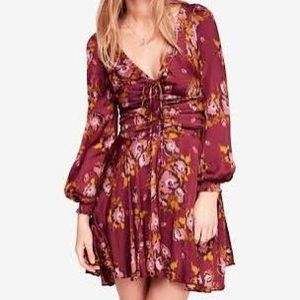 Free People morning light dress -imperfect